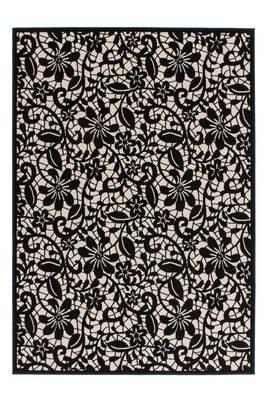 tapis fleur meublespro With tapis champ de fleurs avec canapé convertible eiffel